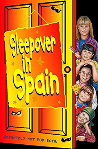 book cover of Sleepover in Spain