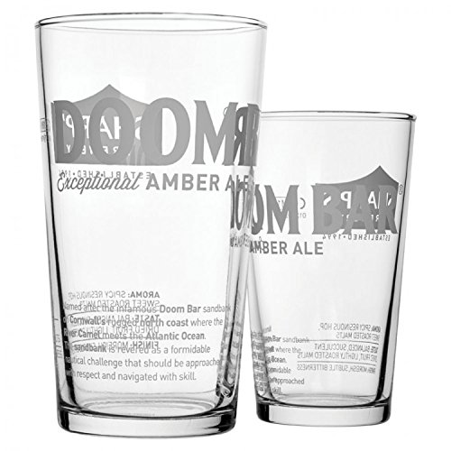 Pack Of 6 Branded Doombar Pint Glass 20oz (58cl) CE - Toughened