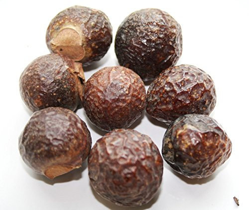 REETHA ARITHA Soap Nuts Sapindus Hair Shampoo WHOLE - 100G