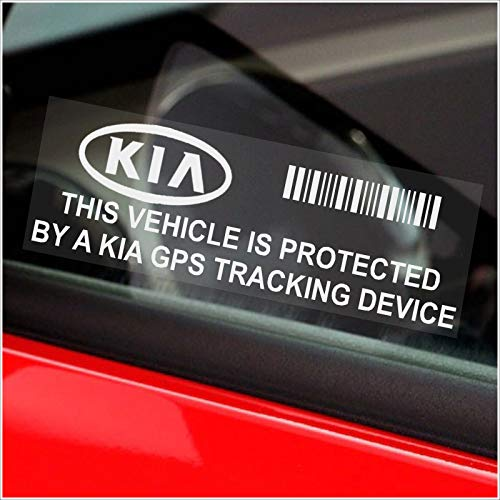 Platinum Place 5 x PPKIAGPS GPS Tracking Device Beveiliging WINDOW Stickers 87x30mm-Auto, Van Alarm Tracker