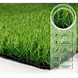 Pet Zen Garden 700465378798 PZG Premium Artificial Grass Patch with Drainage Holes & Rubber Backing