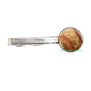 Amazon.com: Baseball Tie Pin, Baseball Tie Clip, Baseball ...