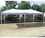 BestMassage 10'x20'EZ Pop Up Canopy Tent Instant Canopy Party Tent W/Free Carry Bag Waterproof