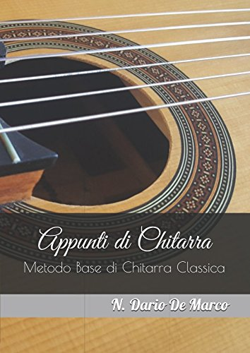 (Appunti di Chitarra: Metodo Base di Chitarra Classica (Italian Edition))