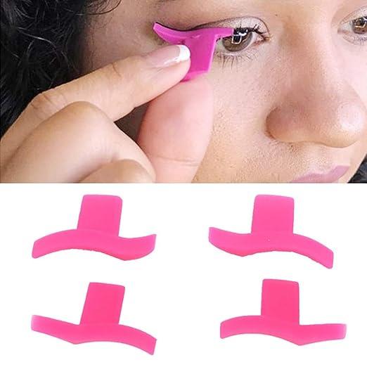 Cuigu 2pcs/par de Ojo de Gato Alado Eyeliner Modelo Sellos Sellos ...