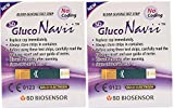 Gluco Navii Blood Glucose Test Strips - 50 Count