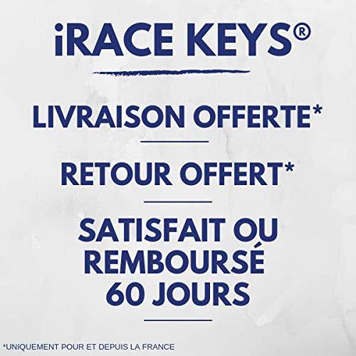 Kit iRace Keys/® Coque Plip Boitier de T/él/écommande Cl/é Peugeot 406 206 SW CC HD Coup/é ✚ Pile CR2016 DURACELL