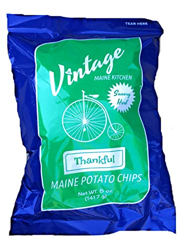 Vintage Maine Kitchen Thankful Potato Chips - Savory Herb - 5 pk made in Maine