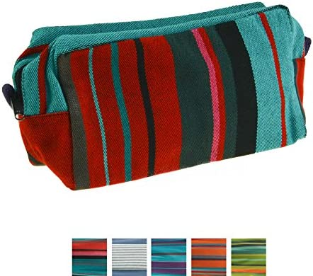 maDDma Neceser Estuche Neceser Bio algodón de Comercio Justo Mano Made 316 22x11x8cm: Amazon.es: Juguetes y juegos