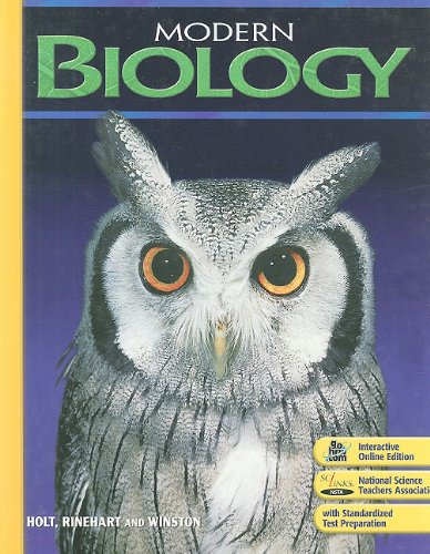 Modern Biology: Student Edition 2009 by HOLT, RINEHART AND WINSTON