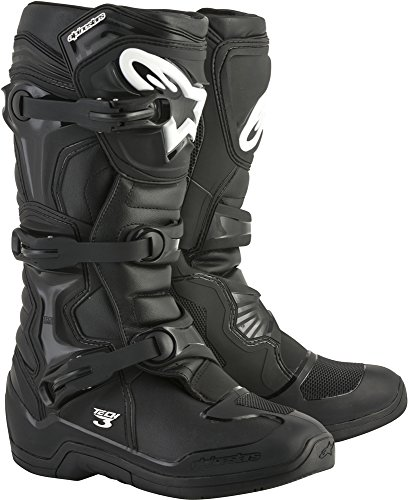 Alpinestars Tech 3 Motocross Off-Road Boots 2018 Version Men's Black Size 8 by Alpinestars