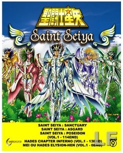 (Saint Seiya Complete Collection (Sancturary, Asgard, Poseidon, Hades, Inferno, Elysion) - Knights of the Zodiac)