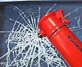 how to install a pocket door BlueSkyBos Orange 6-in-1 Emergency Tool Auto Car Safety Escape Hammer Seat Belt Cutter Flashing Beacon Alarm Siren LED Flashlight