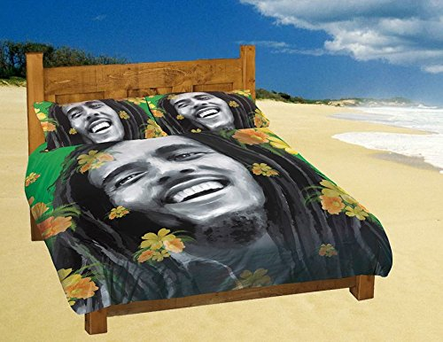 linge de lit bob marley Lazy Days Housse de couette réversible   Bob Marley   Simple  linge de lit bob marley