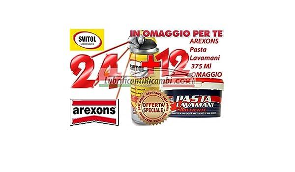 24 x Svitol - NLGI sboccante multiusos Lubricante bañado 400 ml - 4129 + 12 x Pasta lavamani 375 ml): Amazon.es: Bricolaje y herramientas