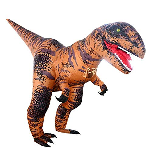 Party Diy Decorations - Inflatable T Rex Costumes Dinosaur Dress Adult Kids Men Women Blowup Animal Cosplay Outfits Clothes - Party Decorations Party Decorations Dinosaur Fancy Blue Costum