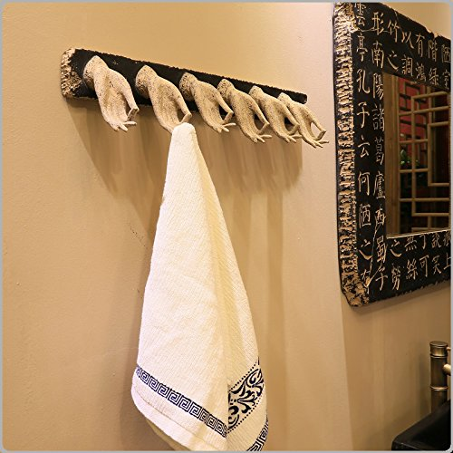 Znzbzt ZnzbztNew Chinese classical innovative features towel hotel club personality art bath health kitchen decor rack