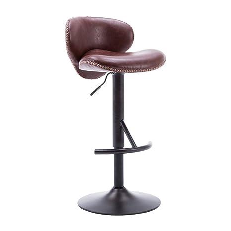 Wondrous Amazon Com Smlzv Bar Stool Faux Leather Kitchen Breakfast Cjindustries Chair Design For Home Cjindustriesco