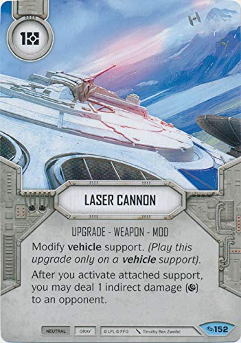 Star Wars Destiny - Laser Cannon - Common - Across The Galaxy