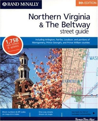 Northern Virginia and the Beltway Street Guide