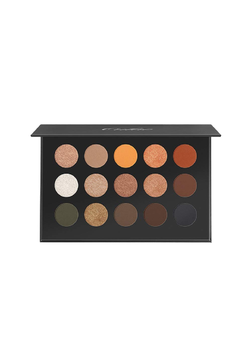 OULAC Pro 15 Shades Eyeshadow Palette Bronze & Olive, Easy to Blend Shades for Warm \/ Summer Complexions, Non-Drying Formula, Cruelty Free, 28.5 grams \/ 1 ounces
