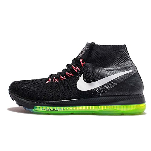 Nike 845361-002, Zapatillas de Trail Running para Mujer Negro (Black / White / Cool Grey / Volt)