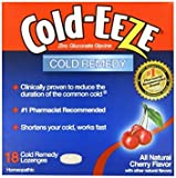 Cold-Eeze Cold Eeze, Cold Remedy, All Natural Cherry Flavor, 18 Lozenges - Pack of 6