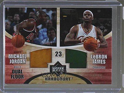 Michael Jordan; LeBron James #/99 (Basketball Card) 2006-07 Upper Deck Hardcourt - Game Floor #GF-26 (And James Jordan Michael Lebron)