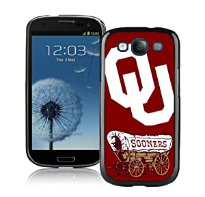 Hot Sale Samsung Galaxy S3 I9300 Case ,Ncaa Big 12 Conference Big12 Football Oklahoma Sooners 7 Black Samsung Galaxy S3 Cover Unique And Popular Designed Phone Case