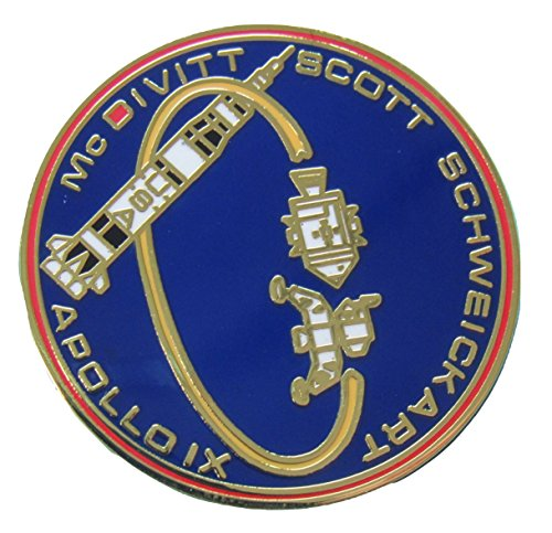 Apollo 9 Lapel Pin Official Nasa Edition Space ()
