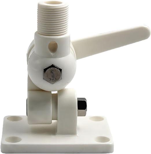 Gazechimp Montura de Trinquete de Nylon Soporte para Antena de Barco Marino