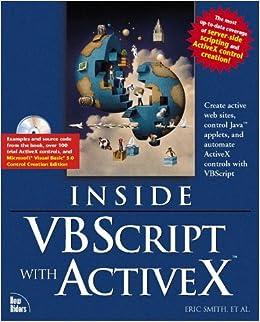 Inside Vbscript and Activex: Yusuf Malluf, Art Scott