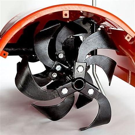 Motoazada a tracción, motocultor de explosión de 208 cc, 6, 5 HP ...