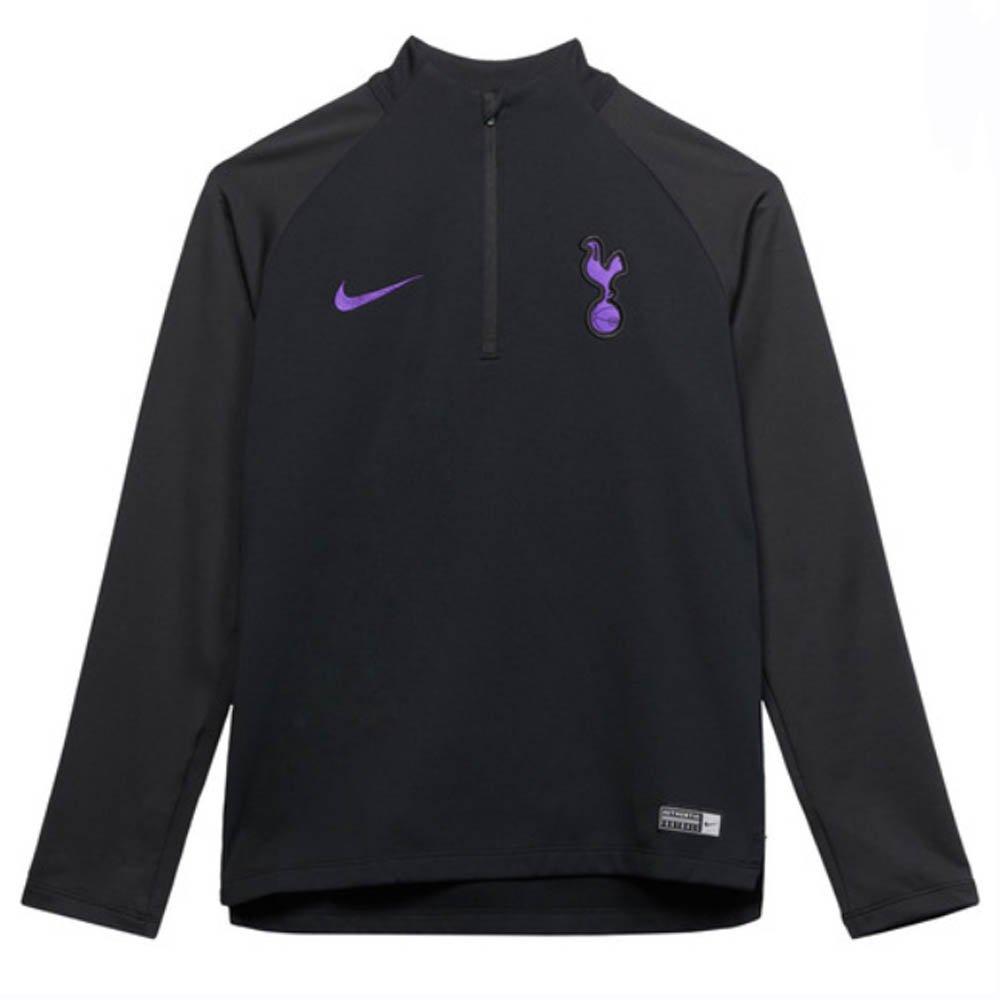 Nike 2018-2019 Tottenham Drill Training Top (schwarz) - Kids