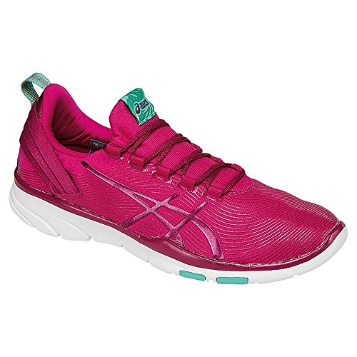ASICS Women's Gel-Fit Sana 2 Cross-Trainer Shoe, Sports Pink/Cerise/Cockatoo, 10 M US by ASICS
