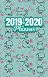 2019-2020 Planner: Two Year Monthly Organizer Pocket Size Notebook V2