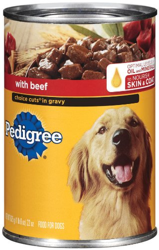 Pedigree Choice Cuts in Gravy with Beef, 22-Ounce (Pack of 12), My Pet Supplies