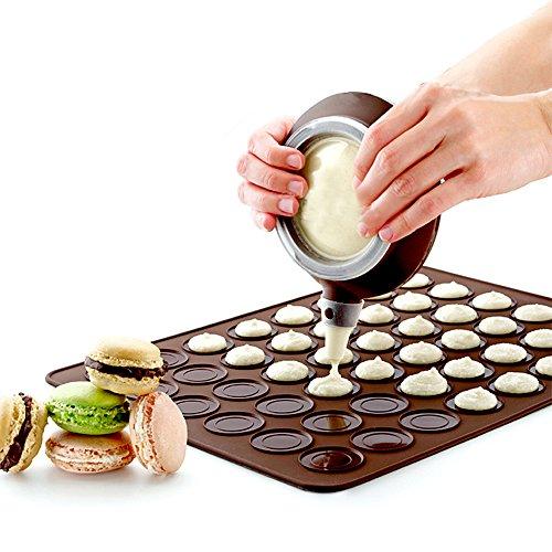 MyLifeUNIT Macaron Kit with Decomax Pen and 30 Capacity Baking Mat