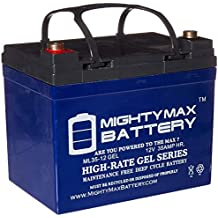 Mighty Max Battery Rechargeable Gel Type Battery 12V (ML35-12GEL)