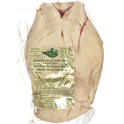 Whole Duck Foie Gras, Grade A - 1.9 - 2.5 Lbs by Hudson Valley Lighting