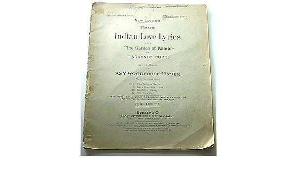 Four Indian Love Lyrics From \