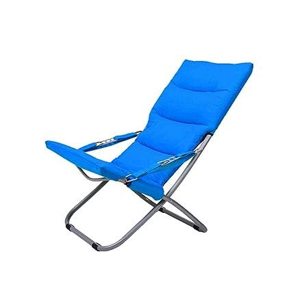 Amazon.com : RUNWEI Canvas Lounge Chair Outdoor Balcony Sun ...