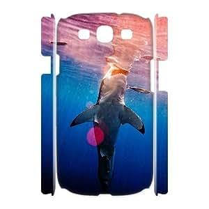 Diy Deep Sea Shark Phone Case for samsung galaxy s3 3D Shell Phone JFLIFE(TM) [Pattern-2] Kimberly Kurzendoerfer