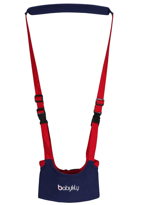 Rouge Harnais de s/écurit/é de Coton taille r/églable Pour B/éb/é 8-18 mois Happy Cherry-Bretelle de s/écurit/é Pour Aider dapprendre /à la marche