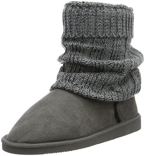 Canadians Boots, Botines para Mujer Gris - Grau (250 DK. GREY)