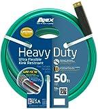 Apex, 8509-50, Heavy Duty Ultra Flexible Garden Hose,  5/8-Inch x 50-Feet