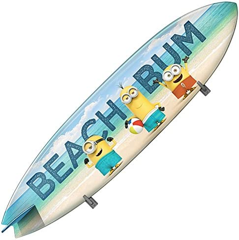 Minions Beach Bums Surfboard Wall Decal Amazon Ca Home Kitchen