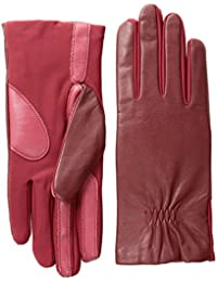 Women's Stretch Leather smarTouch Gloves