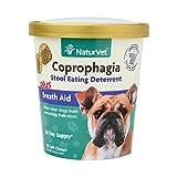 NaturVet 79903698 Coprophagia Deterrent Plus B Aid Soft 70 Ct