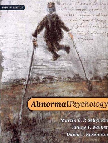 Abnormal Psychology (Fourth Edition)